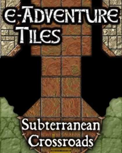 Role Playing Games - e-Adventure Tiles: Subterranean Crossroads