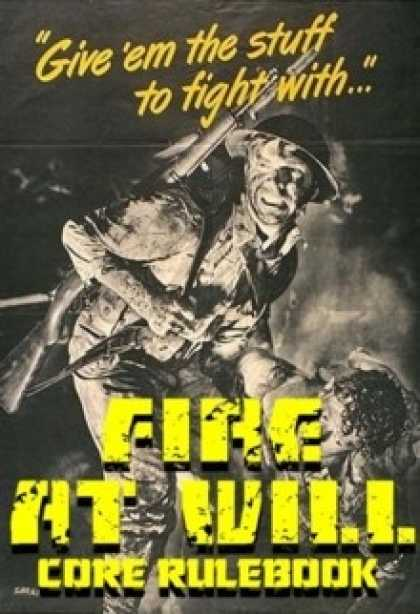 Role Playing Games - Fire at Will
