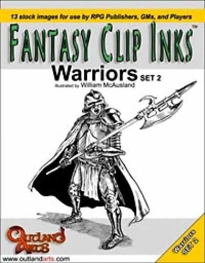 Role Playing Games - Fantasy Clip Inks:: Warriors set 2