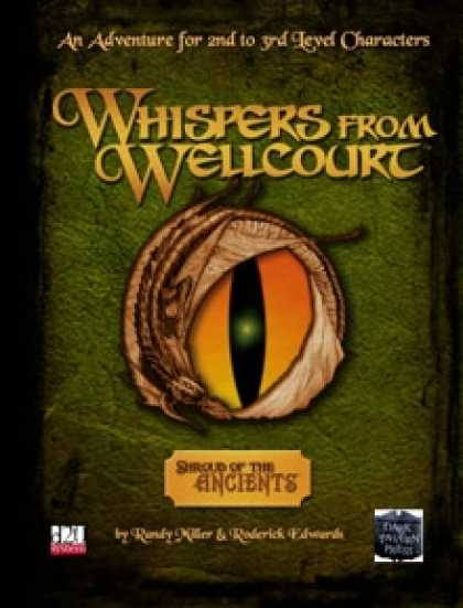 Role Playing Games - Whispers from Wellcourt: A Shroud of the Ancients Adventure