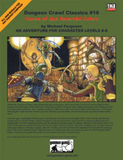Role Playing Games - Dungeon Crawl Classics #16: Curse of the Emerald Cobra