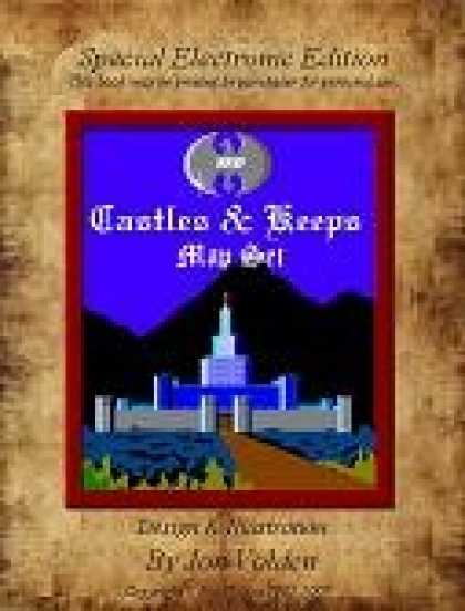 Role Playing Games - 12 Castle & Keeps Map Set