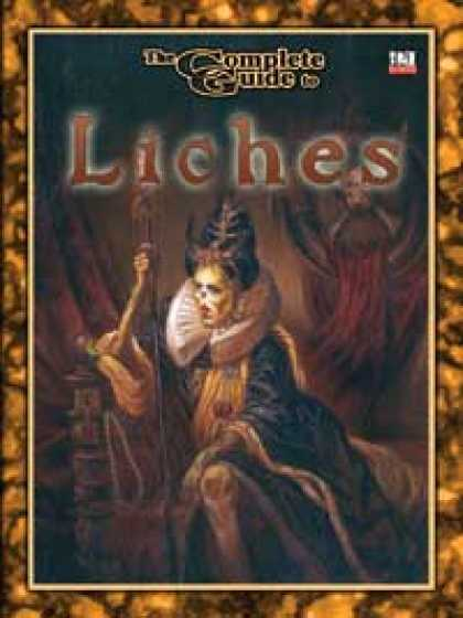 Role Playing Games - Complete Guide to Liches 3.5 edition