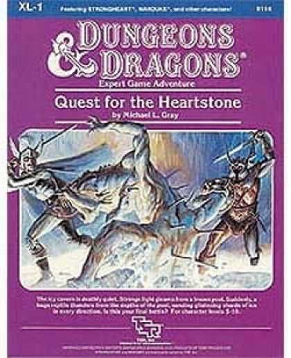 Role Playing Games - XL1 - Quest for the Heartstone