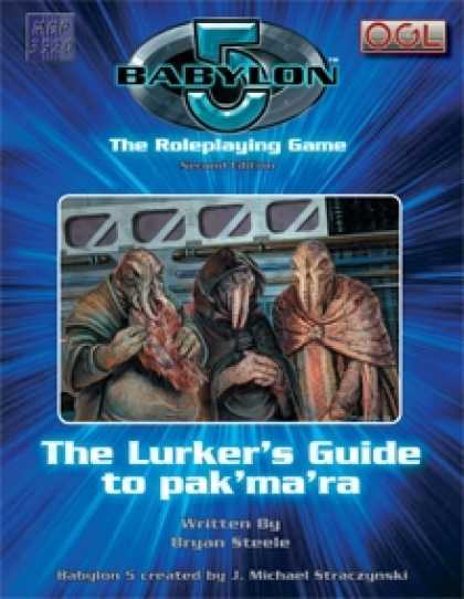 Role Playing Games - The Lurker's Guide to pak'ma'ra