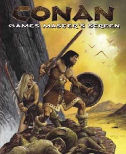 Role Playing Games - Conan Games Master's Screen