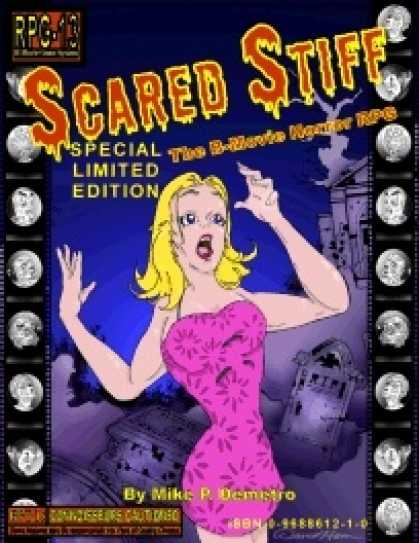 Role Playing Games - Scared Stiff: The B-Movie Horror RPG Special Limited Edition