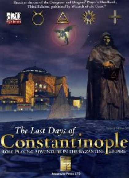 Role Playing Games - The Last Days of Constantinople