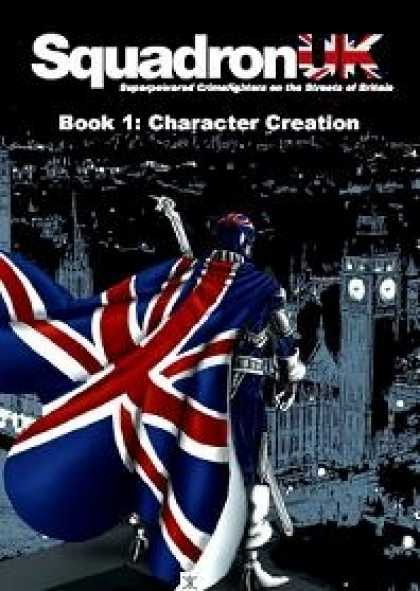 Role Playing Games - Squadron UK - Rulebook 1 - Character Generation