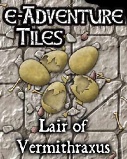 Role Playing Games - e-Adventure Tiles: Lair of Vermithraxus