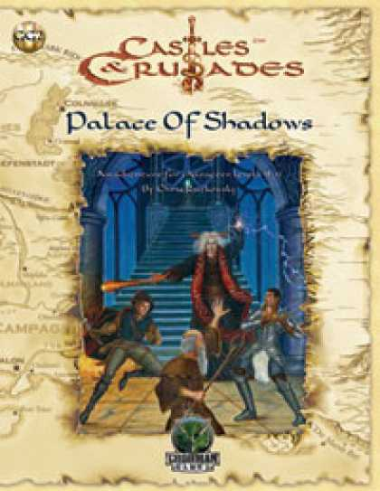 Role Playing Games - Castles & Crusades: Palace of Shadows