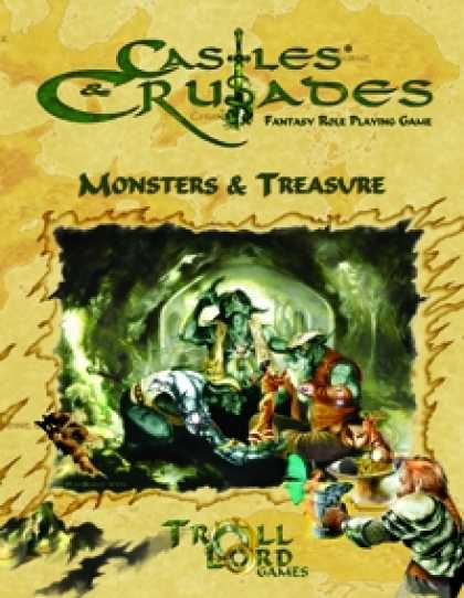 Role Playing Games - Castles & Crusades Monsters & Treasure 2nd Printing