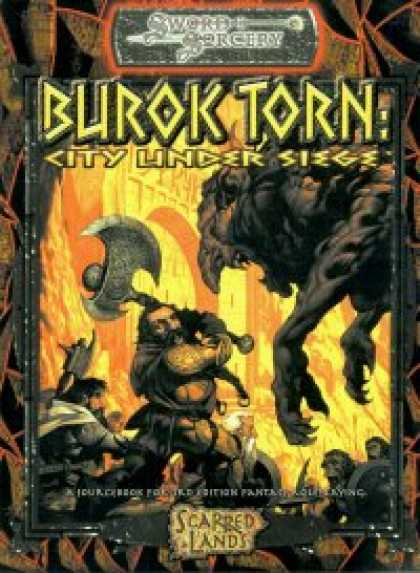 Role Playing Games - Burok Torn: City Under Siege