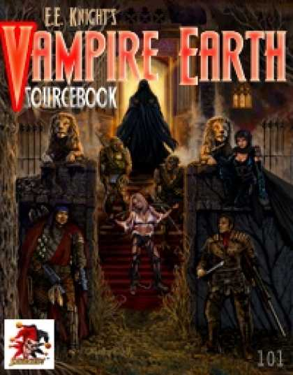 Role Playing Games - Vampire Earth Sourcebook