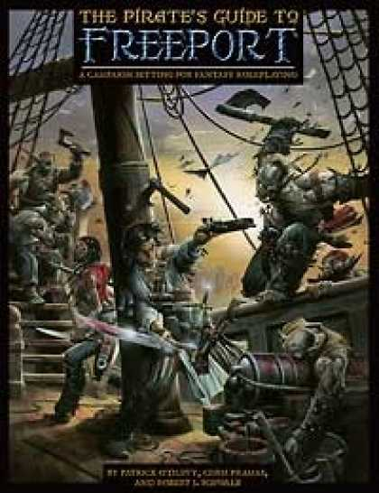 Role Playing Games - Pirate's Guide to Freeport