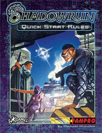 Role Playing Games - Shadowrun Third Edition Quick Start Rules