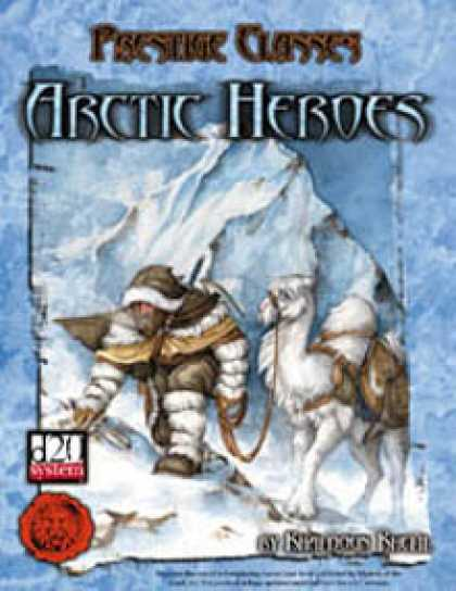 Role Playing Games - Lion's Den Press: Prestige Classes: Arctic Heroes