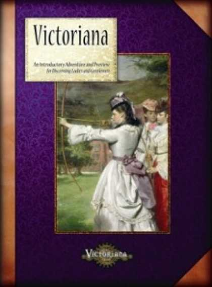 Role Playing Games - Victoriana 2nd Edition Preview