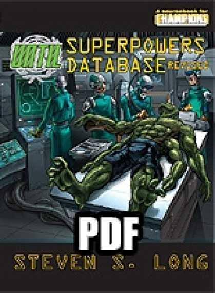Role Playing Games - UNTIL Superpowers Database - PDF