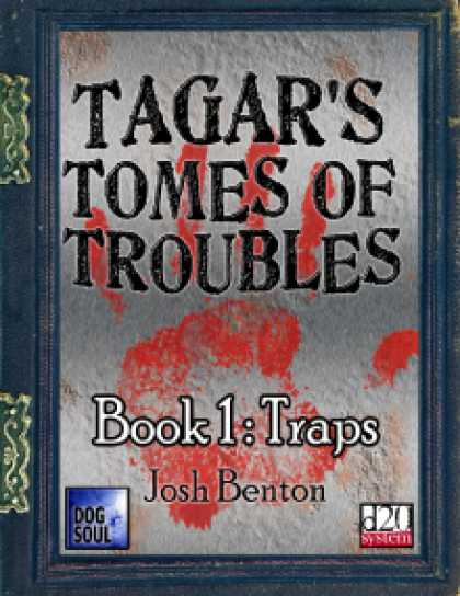 Role Playing Games - Tagar's Tomes of Troubles - Traps