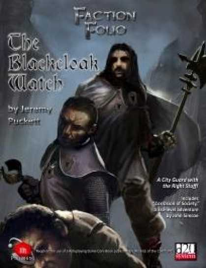 Role Playing Games - Faction Folio 2: The Blackcloak Watch