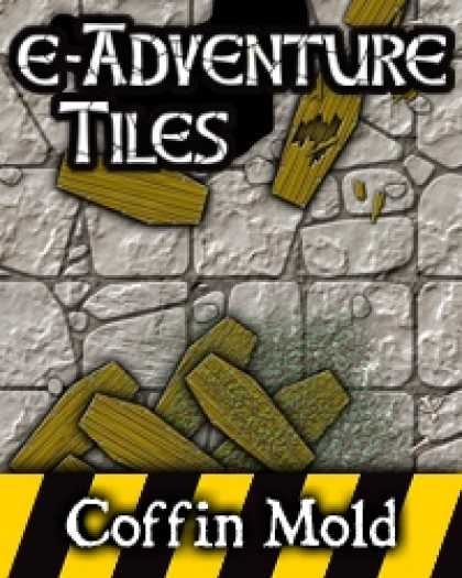 Role Playing Games - e-Adventure Tiles: Hazards - Coffin Mold