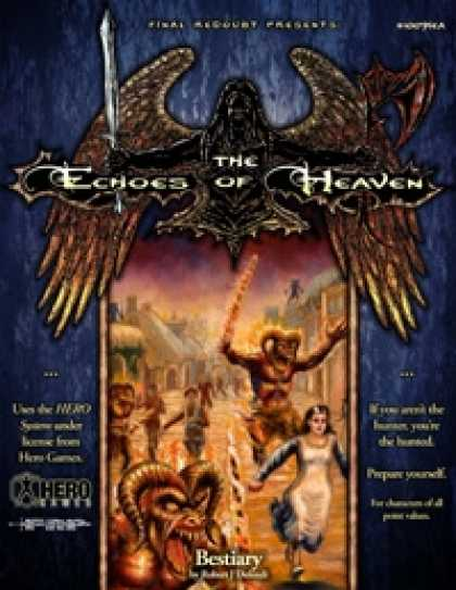 Role Playing Games - The Echoes of Heaven Bestiary/The Tainted Tears (HERO Version)