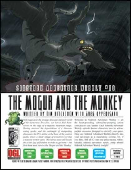 Role Playing Games - Sidetrek Adventure Weekly #10: The Mogur and the Monkey