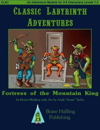Role Playing Games - Fortress of the Mountain King