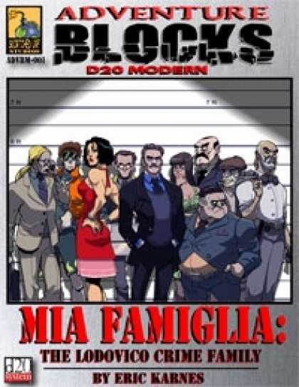 Role Playing Games - Mia Famiglia: The Lodovico Crime Family