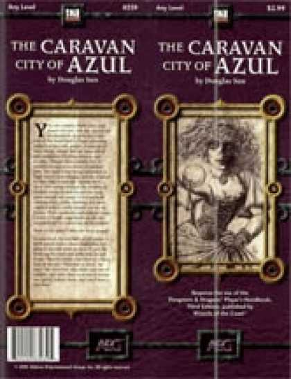 Role Playing Games - The Caravan City of Azul