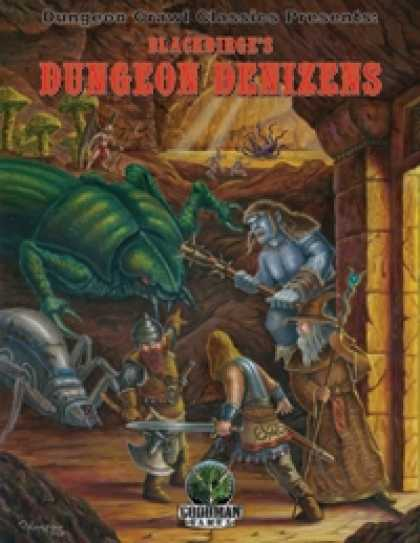 Role Playing Games - Dungeon Crawl Classics Presents: Blackdirge's Dungeon Denizens