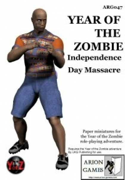 Role Playing Games - YotZ Independence Day Massacre Minis