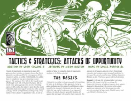 Role Playing Games - Tactics & Strategies: Attacks of Opportunity