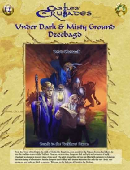 Role Playing Games - C&C I2 Under Dark & Mistry Ground: Dzeebagd