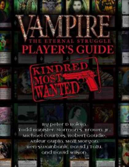 Role Playing Games - VTES Player's Guide: Kindred Most Wanted