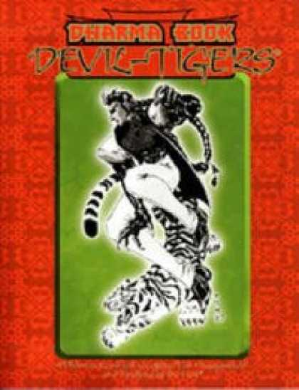 Role Playing Games - Dharma Book: Devil-Tigers