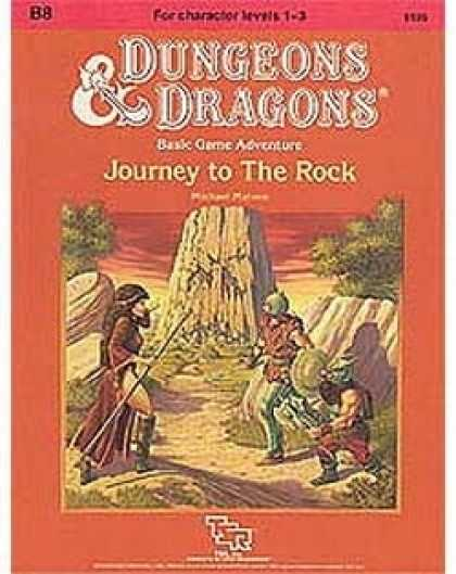 Role Playing Games - B8 - Journey to the Rock