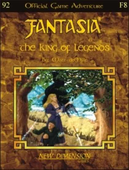 Role Playing Games - Fantasia: The King Of Legends--Adventure F8