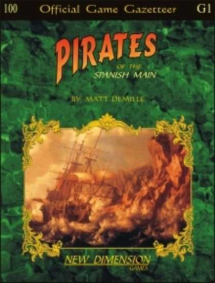 Role Playing Games - Pirates: The Spanish Main--Supplement G1