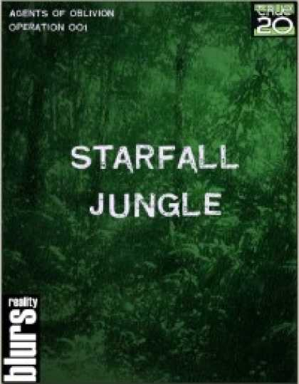 Role Playing Games - Agents of Oblivion: Starfall Jungle (True20 Edition)