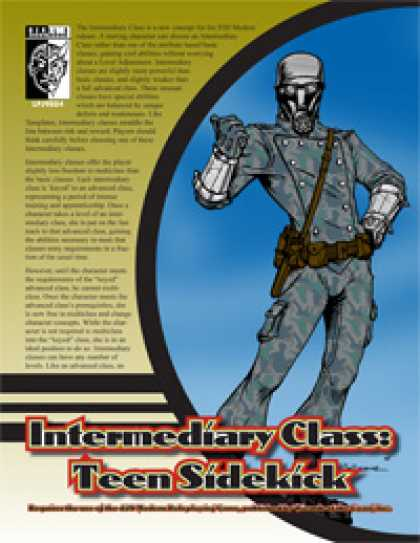 Role Playing Games - Intermediary Class: Teen Sidekick