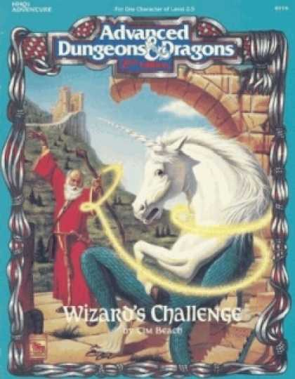 Role Playing Games - Wizard's Challenge
