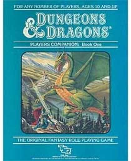 Role Playing Games - D&D Companion Set