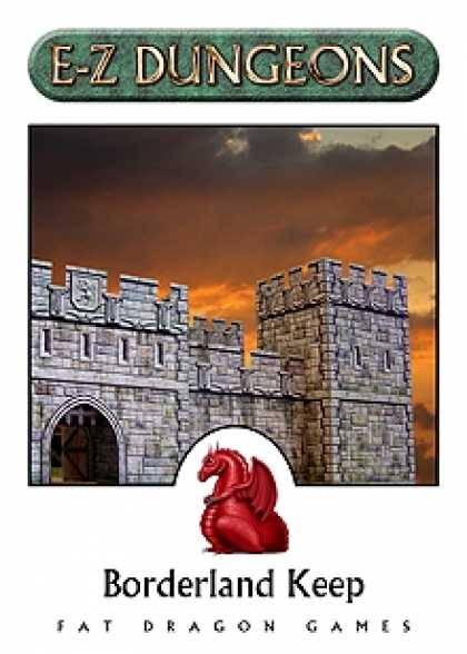 Role Playing Games - E-Z DUNGEONS: Borderland Keep