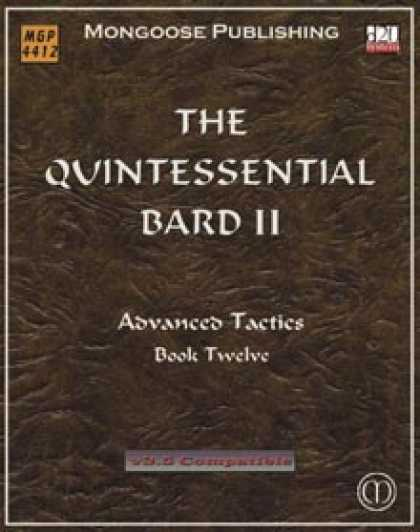 Role Playing Games - The Quintessential Bard II