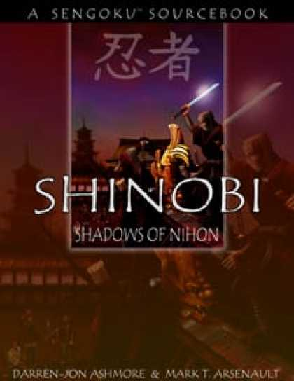 Role Playing Games - Shinobi: Shadows of Nihon