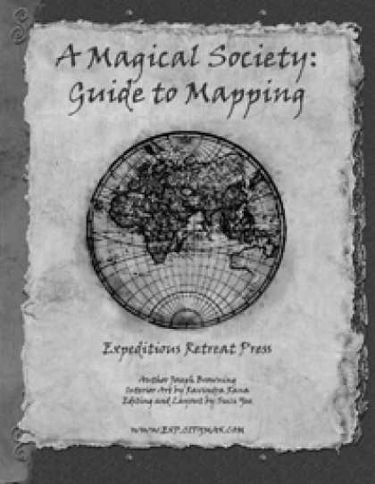 Role Playing Games - A Magical Society: Guide to Mapping