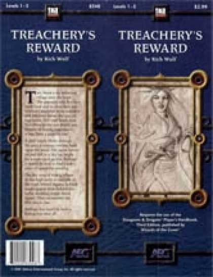 Role Playing Games - Treachery's Reward