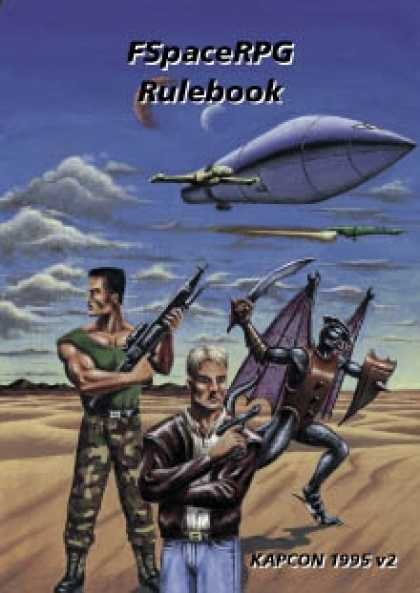 Role Playing Games - FSpaceRPG Rulebook KAPCON 1995 v2